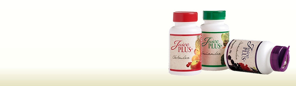 <h3>Juice Plus+® Enjoy the benefits of whole food based nutrition</h3><br>Good nutrition takes time and planning. Clinically proven Juice Plus+® helps you bridge the gap between the 7 to 13 servings of fruits and vegetables recommended by The United States Department of Agriculture (USDA) and the nutrition you actually get with your busy schedule.